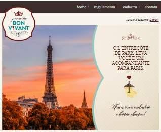 Cadastrar Promoção Vou Pra Paris L'entrecôte Restaurantes de Paris