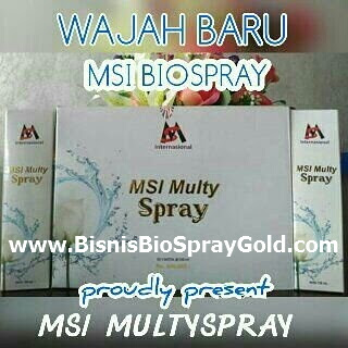 Testimoni BioSpray MSI- Multy Spray