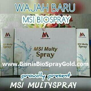 Testimoni BioSpray MSI- Multy Spray