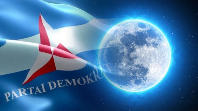Demokrat Bali Kaitkan Kudeta AHY dengan Kemunculan Blue Moon: Partai Berwarna Biru akan Bersinar