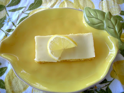 Margaret's Morsels | Quick and Easy Lemon Bars