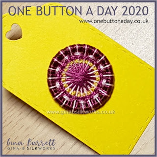 One Button a Day 2020 by Gina Barrett - Day 95: Mjölnir