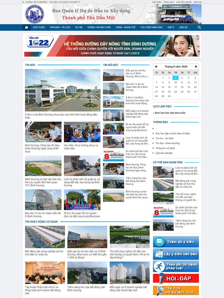 Dự án Ban QLDA Xây dựng Đầu tư