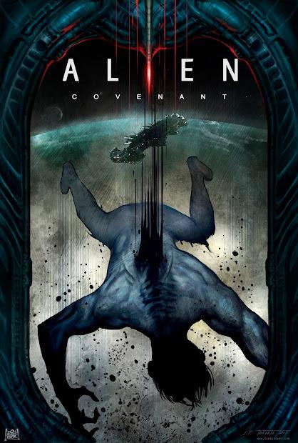 "Targete' ""logan"" And ""alien Covenant"" Art"
