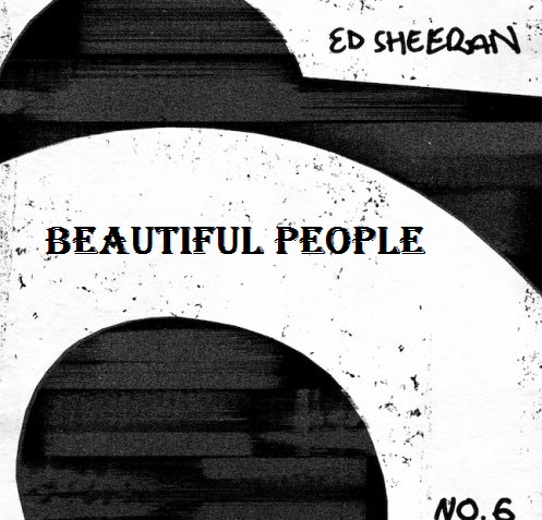 Beautiful people Guitar chords  lyrics with Strumming Pattern | Ed Sheeran Ft Khalid