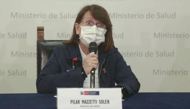 Pilar Mazzetti, Ministra de Salud