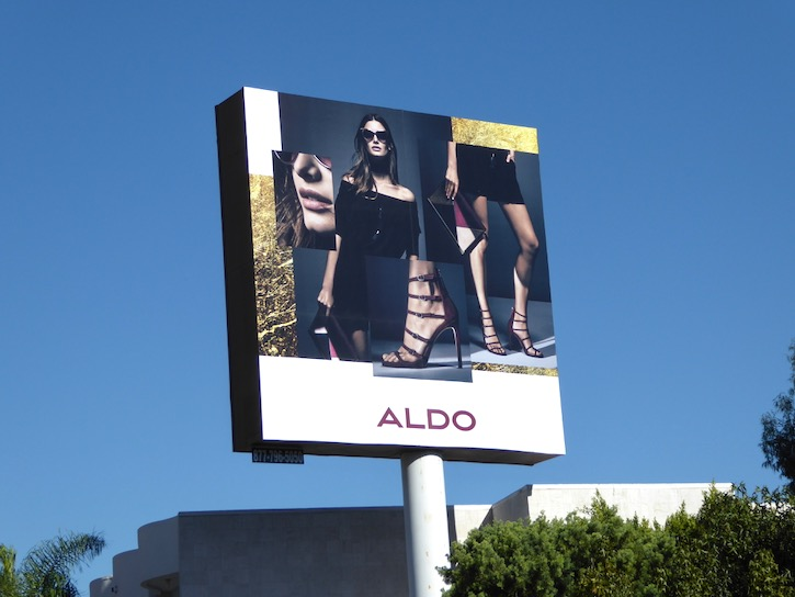 Aldo Shoes FW16 billboard