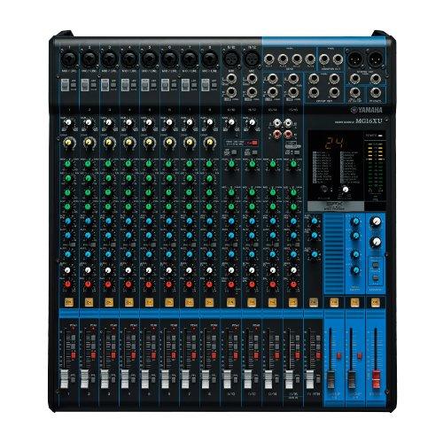 Review Yamaha MG16XU 16 Channel Mixer