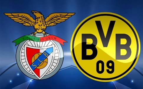 Benfica x Borussia Dortmund (14/02/2017) - Prognóstico, horário e TV