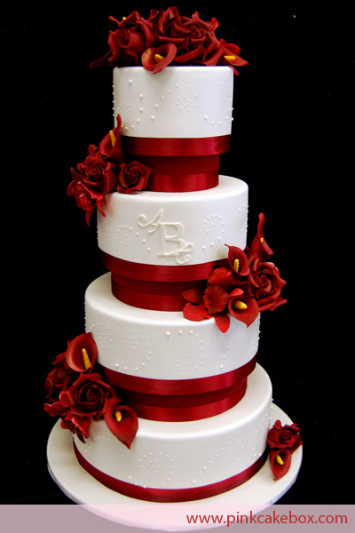 wedding cake with flowers in between layers wedding cakes with flowers between layers 26882