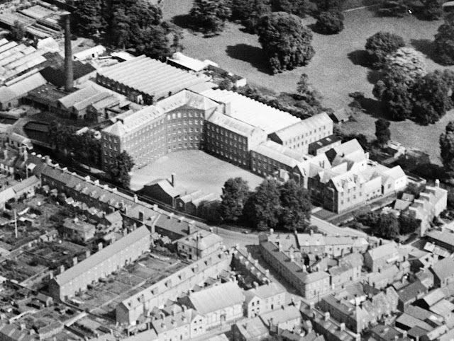 Aerial Photo of Heathcoat's Factory 1928 (Before the 1936 Fire)