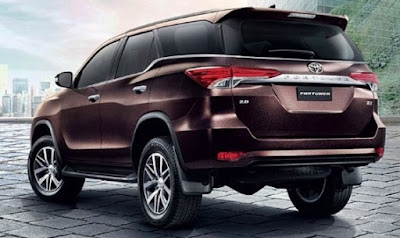 2018 Toyota Fortuner Redesign