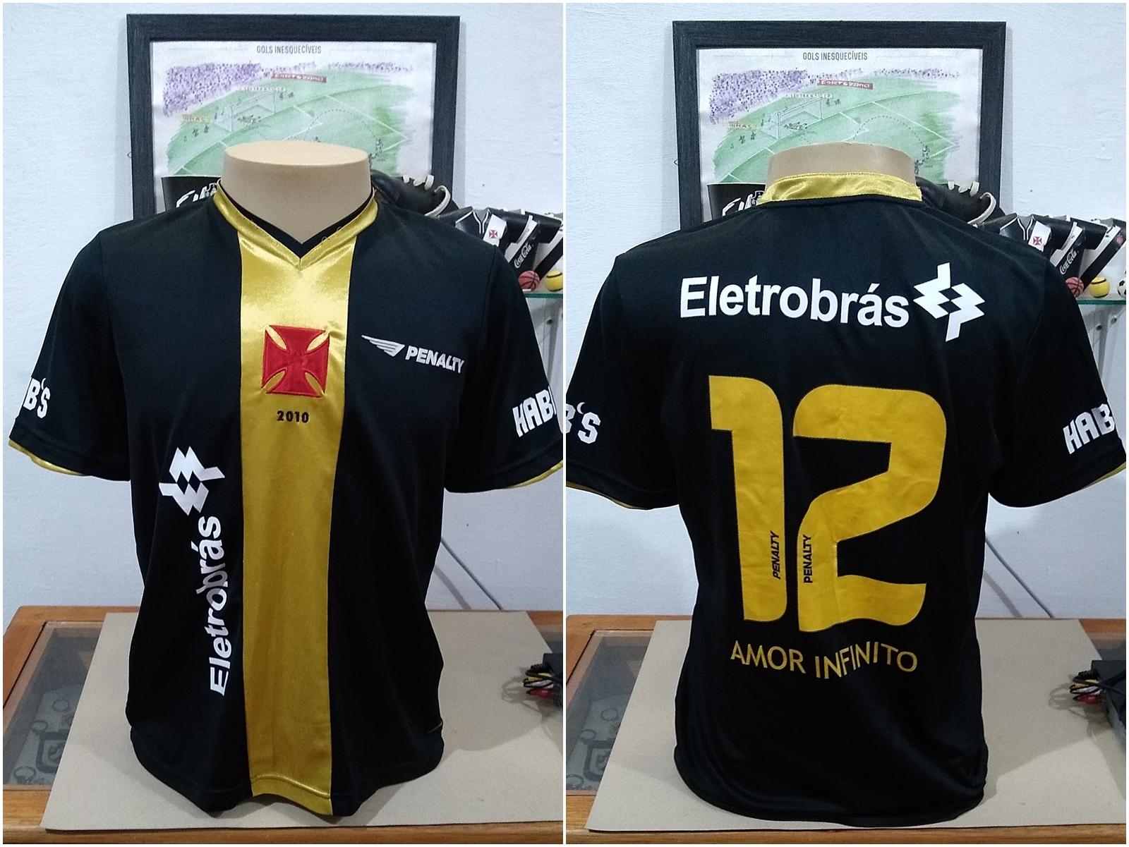 39e399b0e8 Camisa Oficial do Club de Regatas Vasco da Gama