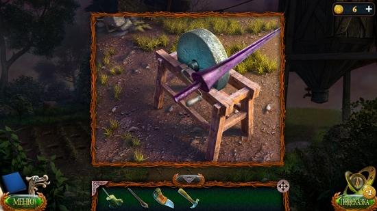 около дома на круге заточка меча в игре затерянные земли 4 скиталец