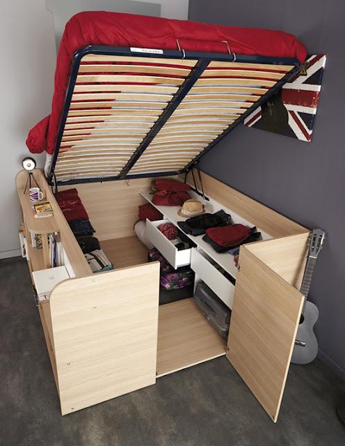 Giường ngủ đa năng thiết kế hiện đại