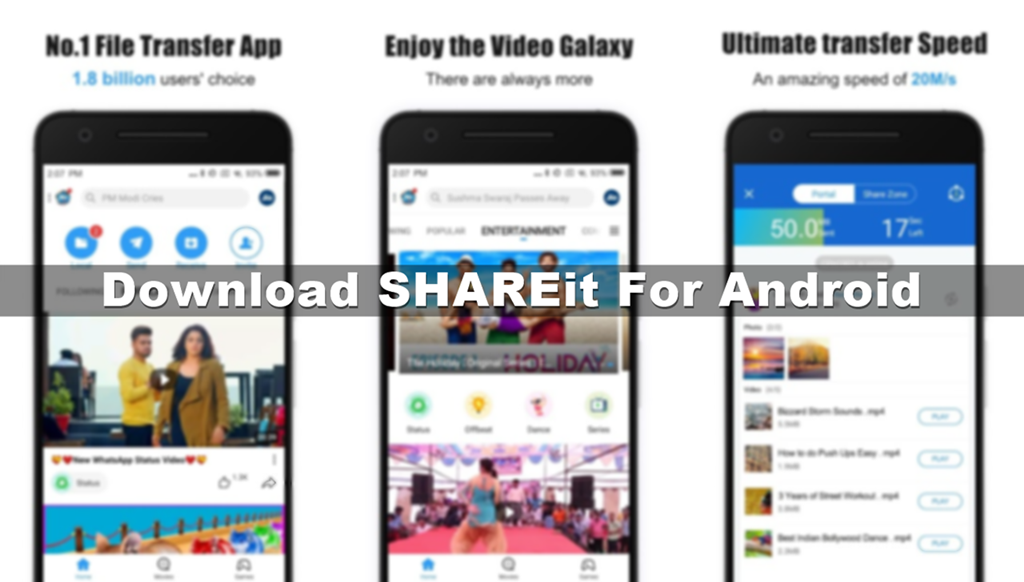 download shareit for android latest version