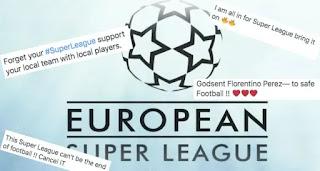 Football fans label Perez the Putin of football ESL proposal