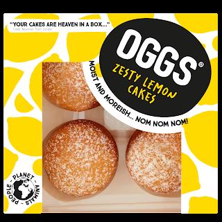 OGGS Lemon Drizzle Cakes