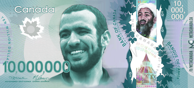 Omar Khadr money