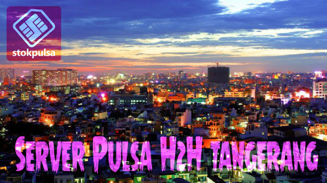 server pulsa h2h tangerang