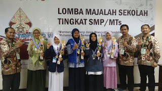 Ini Dia Prestasi Siswa SMP Muh PK Kota Barat di Ajang OlimpycAD