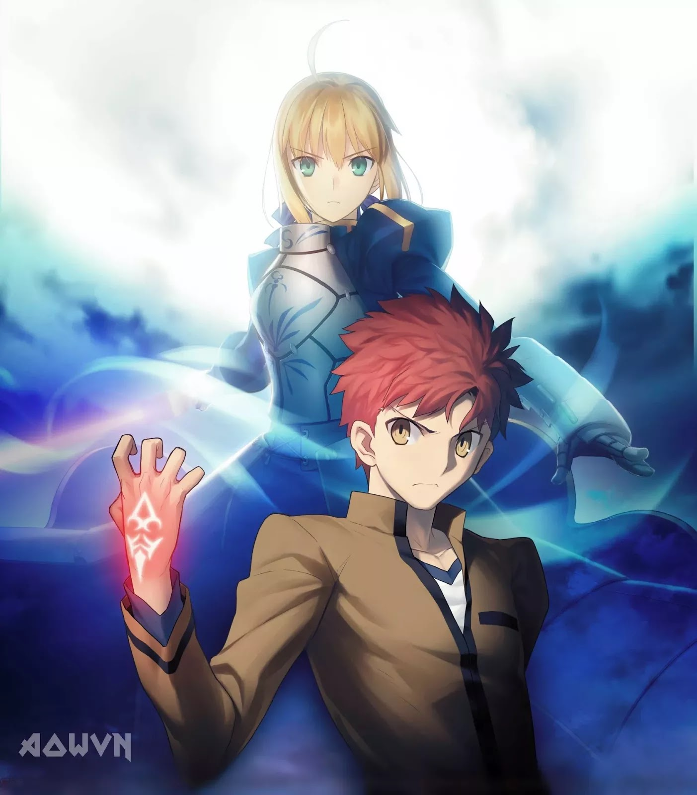 AowVN.org min%2B%25282%2529 - [ Anime 3gp Mp4 ] Fate Stay Night Unlimited Blade Works BD SS1 + SS2 + Special | Vietsub - Cực Đỉnh