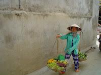 Vietnamese hat (non la or conical hat)
