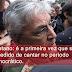 Caetano: é a primeira vez que sou impedido de cantar no período democrático.