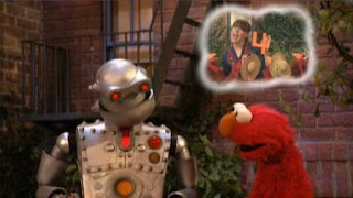 Elmo helps to The Memorybot. Memory jumps on Elmo and begins counting. Sesame Street The Best of Elmo 2