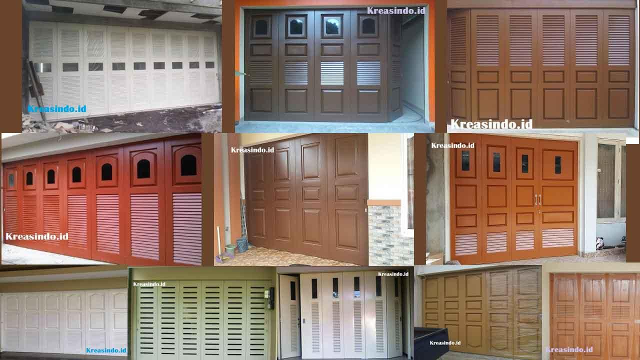 Model Pintu Garasi Besi Dan Pintu Lipat Terbaru Disertai Harga