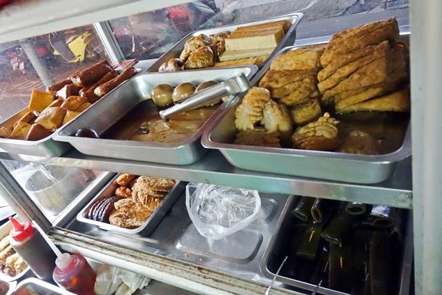 樂華夜市素食小吃店小菜