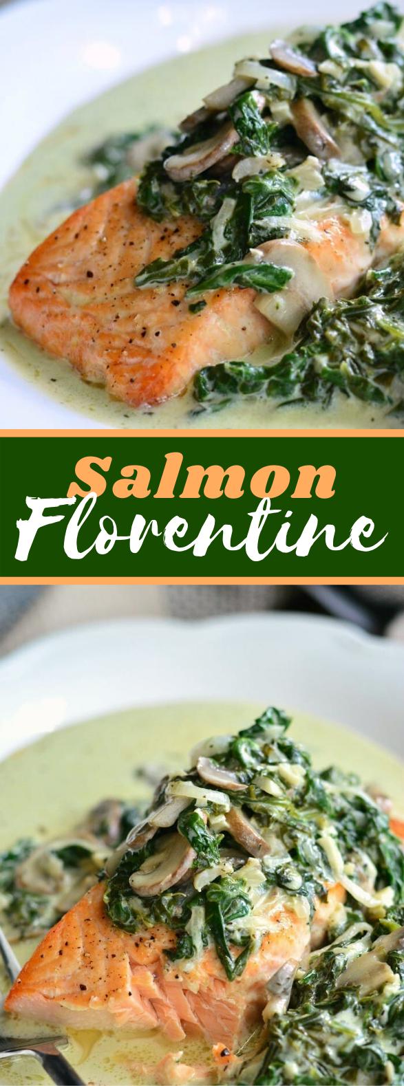 SALMON FLORENTINE #meals #dinner
