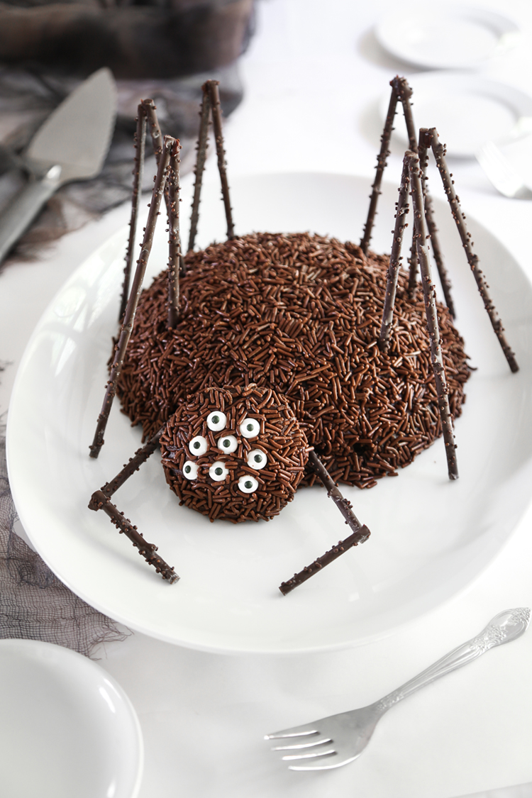 How To Make A Spider Cake