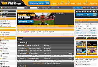 BetPack Screen