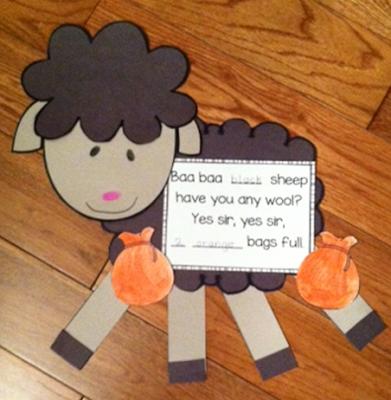 https://www.teacherspayteachers.com/Product/Baa-Baa-Black-Sheep-Craftivity-867452