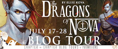 The Dragons of Nova Blog Tour banner