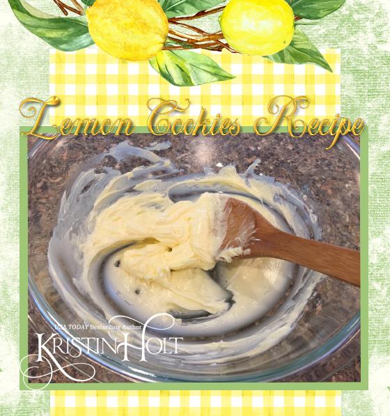 Kristin Holt | Lemon Cookies Recipe (1895). Step 4: Cream Butter by hand!