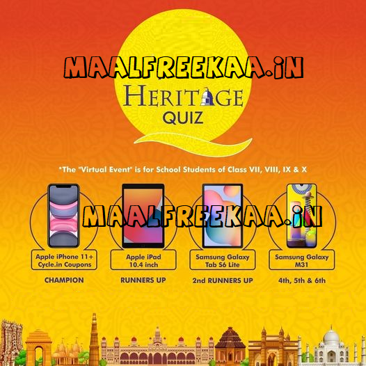 Play Quiz Contest Event And Win iPhone Smartphone Tab and more
