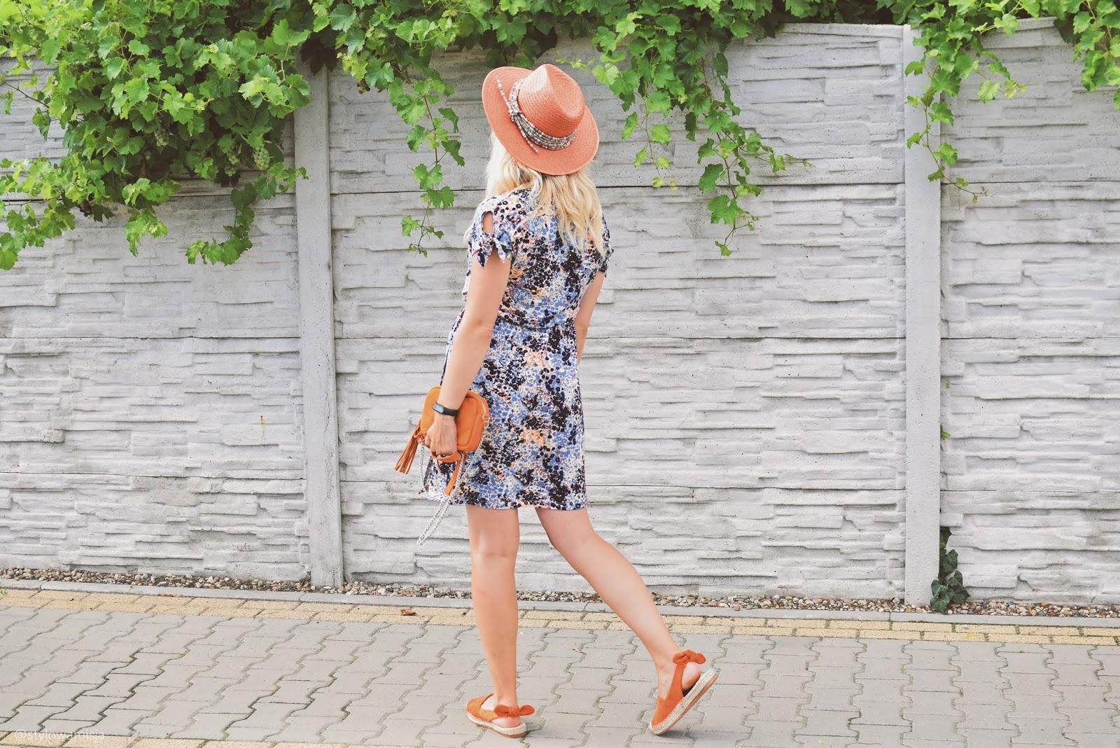 sukienka, bonprix, bonprix.pl, espadryle, czasnabuty.pl, kolczyki, Dedicante, kapelusz, prettyonewarsaw, stylizacja, lato, moda, torebka, fabiola,