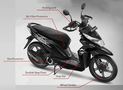 Variasi Motor Honda Beat eSP