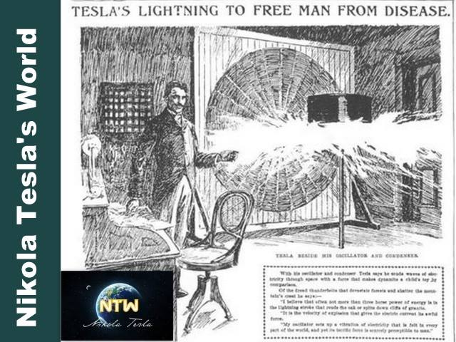 Nikola Tesla On Health Medical Technology From X Ray UV Disinfectants To Radio Frequency Surgery