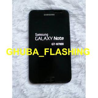Cara Flash Samsung Galaxy Note 1 (GT-N7000) 100% Work