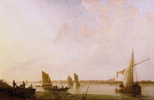 Альберт Кёйп - Рассвет на реке. ок1650