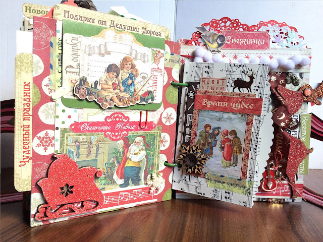 Novogodniy skrap photo album | Inna Yakusheva's blog