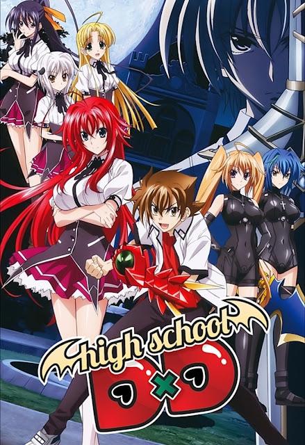 High School DxD S1 + S2 + S3 + S4 + OVA Sub Indo Batch Download