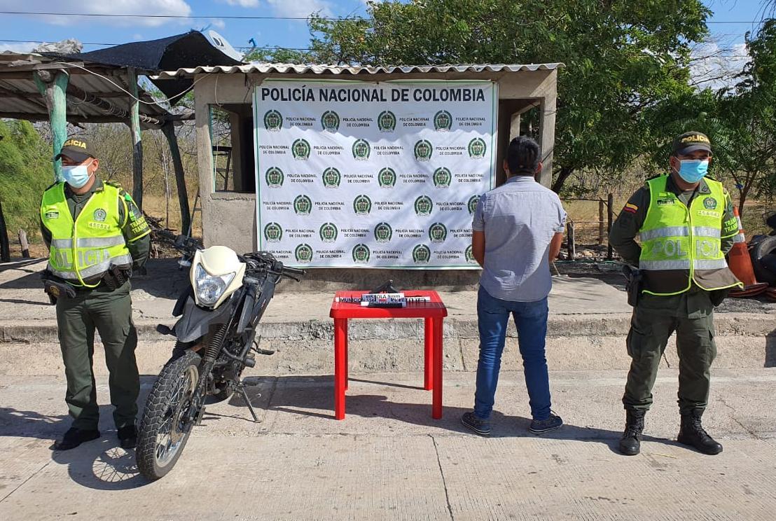 hoyennoticia.com, Redada en carreteras guajiras: dos capturados