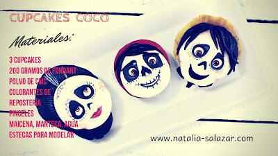 cupcakes pelicula coco pixar disney