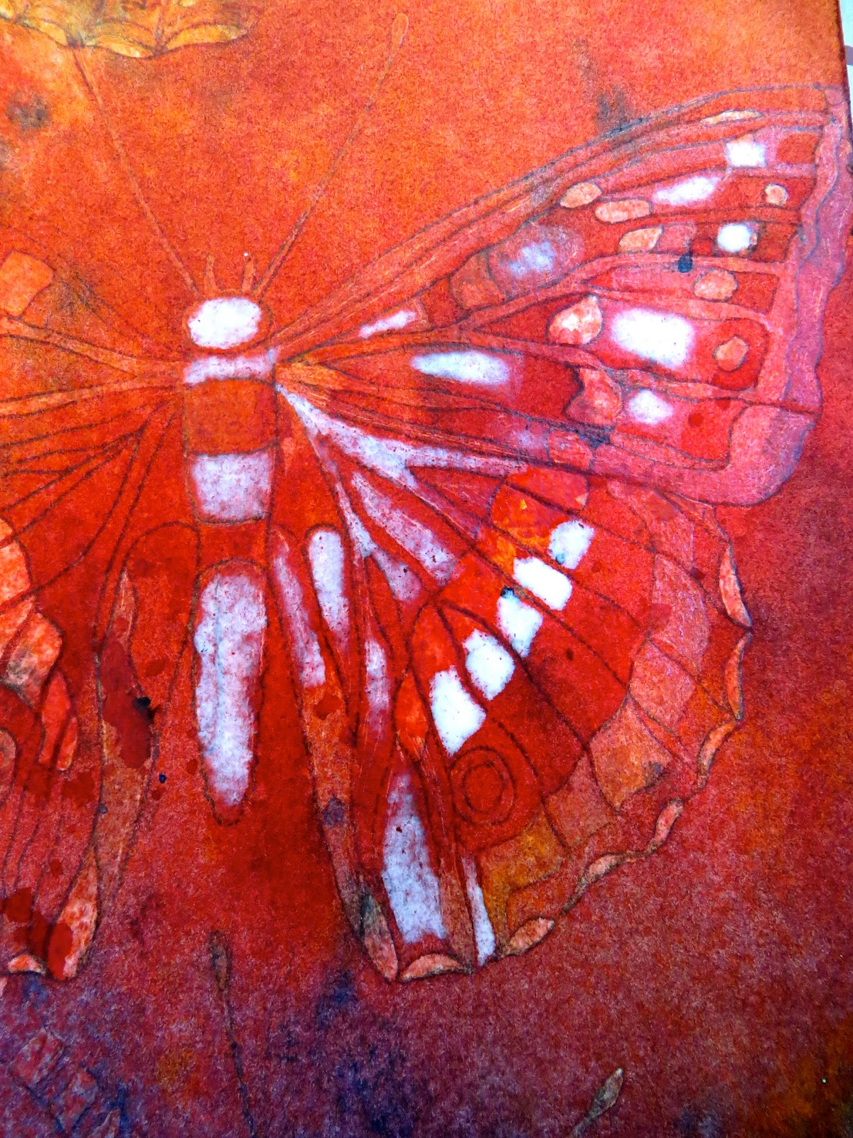 The Painted Prism Watercolor Workshop Butterfly Batik