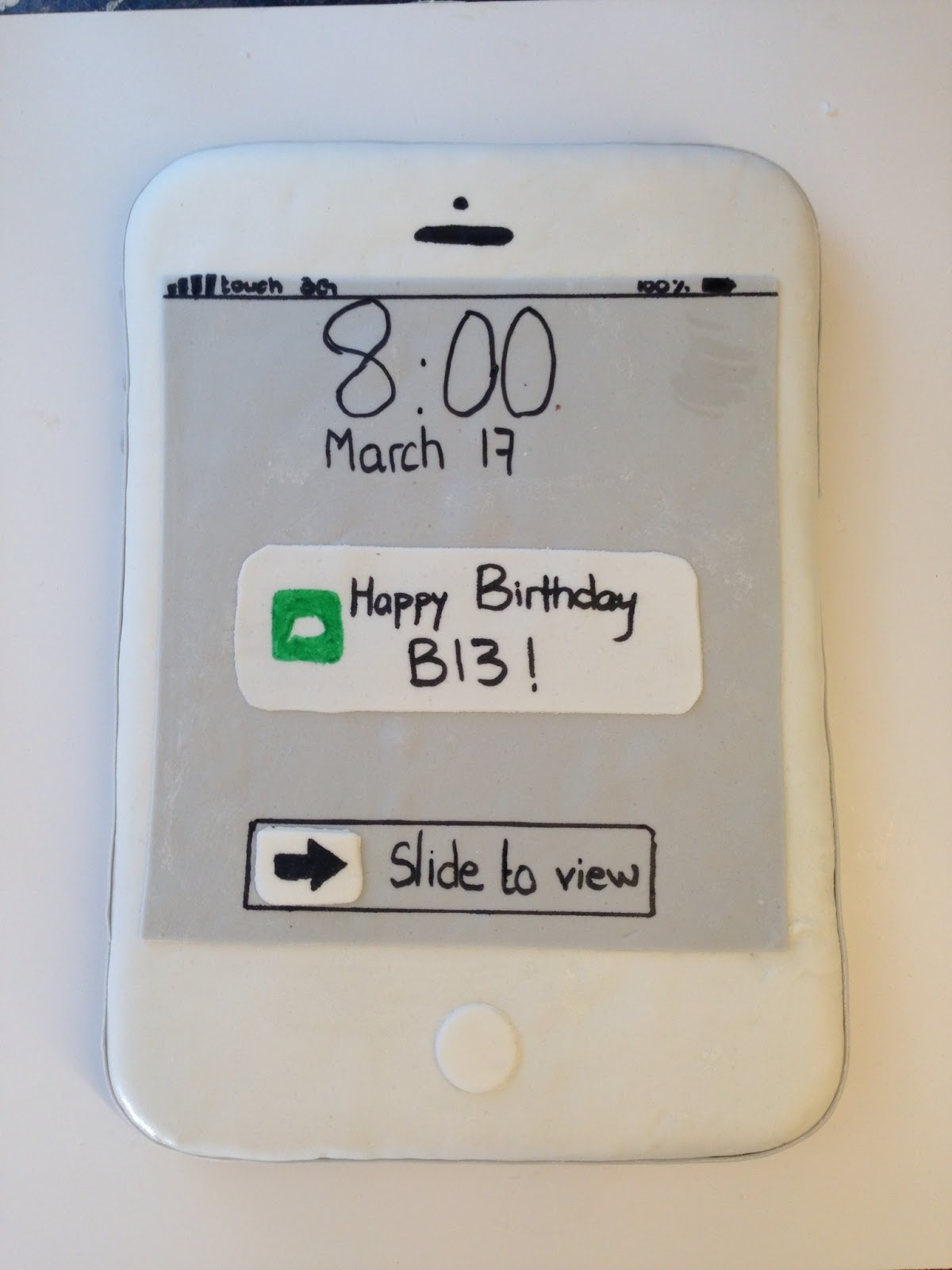 Iphone  Cake Ideas