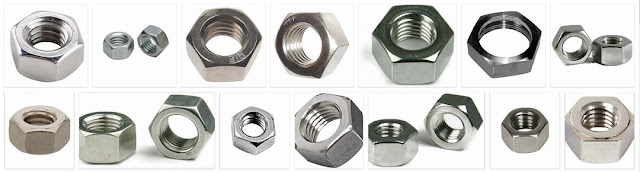 Stainless Steel Hex Nut Manufacturer Supplier Trader from GIDC Gujarat India